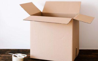 Organizzazione trasloco: fare gli scatoloni