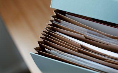 Cosa usare per organizzare i documenti
